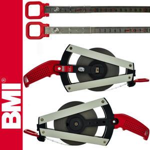 BMI - Taśma BMI PONTARIT ERGOLINE 50m chromoniklowa, niełamliwa, nierdzewna - 2101956095