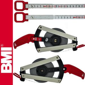 BMI - Taśma BMI WEISSLACK ERGOLINE 50m stalowa, lakierowana - 2101956096