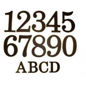 Cyfry Literki dom posesja - 2824310565