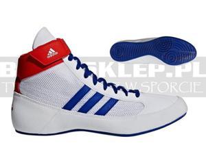 f6c149f41 Buty bokserskie ADIDAS BOX HOG 2 Blue -AQ3404 - 2838719592