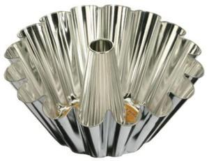 Forma do pieczenia babki śr. 230 mm z tuleją ocynkowana - 2845053638