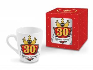 """Kubek baryłka Gold 300 ml """"30"""" - 2845462033"""