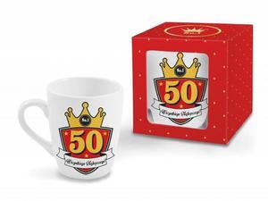 """Kubek baryłka Gold 300 ml """"50"""" - 2845462035"""