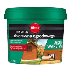 ALTAX Impregnat do drewna ogrodowego 5L orzech - 2849781426