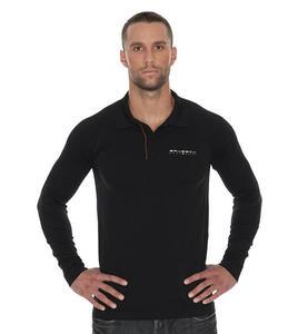 Brubeck Koszulka męska polo PRESTIGE z długim rękawem LS10620 - 2859710537