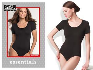 Gatta Body krótki rękaw microfibra - Body T-shirt - 2857909757