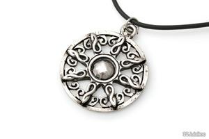 AMULET SOLARNY CELTYCKI amulety talizmany celtic kauczuk (aj455) - 2858177077