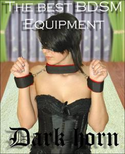 Dark Horn Collar zestaw BDSM - 2832872068