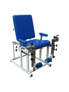 Fotel do ćwiczeń oporowych i stawu kolanowego oraz pomiaru momentów sił mięśni kończyn dolnych - 2836499494