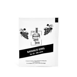 Drożdże winiarskie SpiritFerm Bayanus G995 - 10g - 2832805356