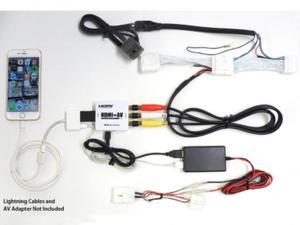 Beat-Sonic IF-02AEP Smartphone Mirroring Kit Toyota iPhone - 2853263287