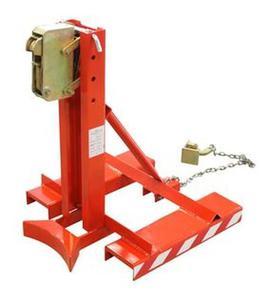 99724857 Uchwyt do beczek na wózek widłowy GermanTech DG360A (udźwig: 360 kg) - 2827335851
