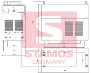 45643382 Przecinarka plazmowa Stamos S-Plasma 120/Cut 120, 400V, 3-Fazowe (prąd cięcia regulowany:...