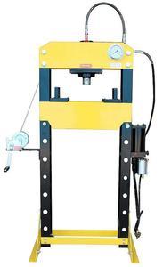 DOSTAWA GRATIS! 44358875 Prasa hydrauliczna, pneumatyka, ruchomy tłok, regulowany stół (siła nacisku: 40 T) - 2837104301