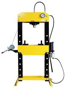 DOSTAWA GRATIS! 44358876 Prasa hydrauliczna, pneumatyka, ruchomy tłok, regulowany stół (siła nacisku: 50 T) - 2837104302