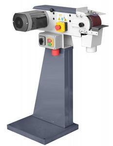02861316 Szlifierka taśmowa (wymiary taśmy ściernej: 100x1220 mm, prędkość taśmy szlifierskiej: 9,5/19 m/s, moc silnika: 1,5 kW) - 2845518243