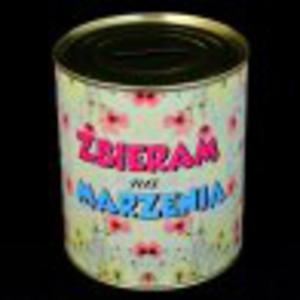 Puszka skarbonka Zbieram na Marzenia - 2827759443