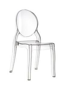Krzesło przeźroczyste Elizabeth różne kolory - 1863076739
