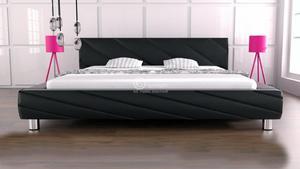 Łóżko do sypialni Apollo 160x200 - tkanina - 2826535822