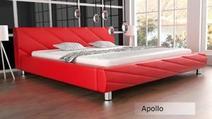 Łóżko do sypialni Apollo 200x220 - tkanina - 2826535825