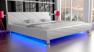 Łóżko do sypialni Apollo LED RgB multikolor - 2826535987