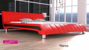 Łóżko sypialniane Marco - meble do sypialni penta - 2826536113