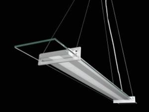 Lampa wisząca LED MODERNO ELEGANTE aluminium barwa biała zimna MO-LWI-C-W-3-PL-PL-01 SKOFF - 2832527996