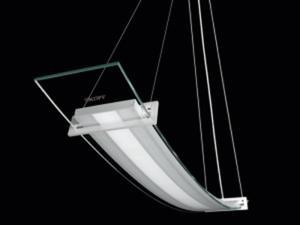 Lampa wisząca LED MODERNO ELISSE aluminium barwa biała zimna ME-LWI-C-W-3-PL-PL-01 SKOFF - 2832528002