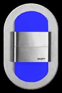 Oprawa oświetleniowa LED RUEDA Duo aluminium barwa niebieska MH-RDU-G-B-1-PL-00-01 SKOFF - 2832528036
