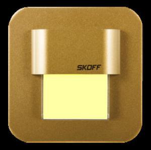 Oprawa oświetleniowa LED SALSA Mini mosiądz mat barwa biała ciepła MH-SMI-M-H-1-PL-00-01 SKOFF - 2832528084
