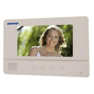 "Wideo monitor bezsłuchawkowy, kolorowy 7"" OR-VID-YT-1007MV/W ORNO - 2832528453"