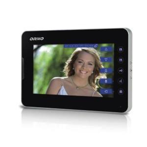 "Wideo monitor bezsłuchawkowy, kolorowy 7"" OR-VID-AR-1031PMV ORNO - 2832528462"
