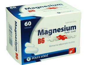 Magnesium B6 Polfa-Łódź 60 tabl. - 2823375147