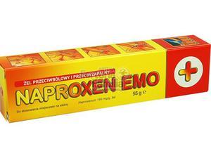 Naproxen Emo żel 0,1 g/1g 55 g - 2823375214