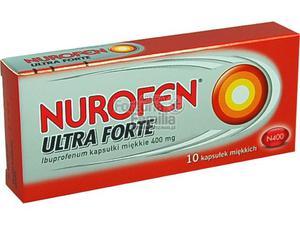 Nurofen Ultra Forte 0,4g 10kaps. - 2823375271