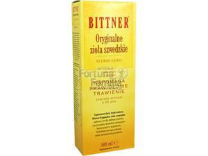 Bittner Oryginalne Zioła Szwedzkie Tonik 500ml - 2823374583