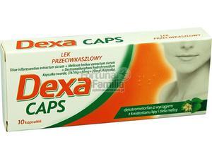 DexaCaps kaps.twarde 0,167g+0,05g+0,02g 10 - 2823374730