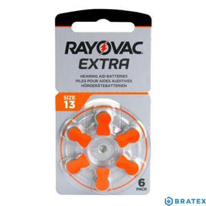 6 x bateria do aparatów słuchowych Rayovac Extra Advanced 13 - 2823862501