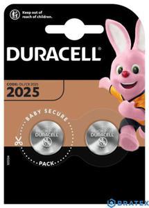 2X DURACELL CR2025 BLISTER - 2880643074