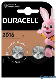 2X DURACELL CR2016 BLISTER - 2880643075
