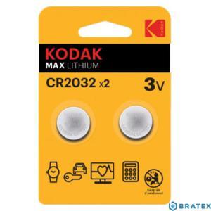 2x Bateria Kodak 2032 blister - 2880643173