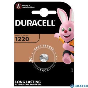 bateria litowa mini Duracell CR1220 - 2823862384