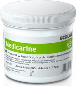 Ecolab Medicarine preparat w tabletkach do dezynfekcji 300 szt. Medicarine preparat w tabletkach o działaniu dezynfekcyjnym - 2844646444
