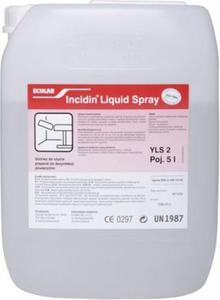 Szybko działający środek do dezynfekcji Ecolab Incidin Liquid Spray 5l Preparat dezynfekujący do czyszczenia sprzętu medycznego - 2844646450