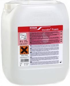 Płyn do dezynfekcji sprzętu medycznego Ecolab Incidin Foam 5l Preparat odkażający powierzchnie...