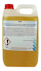 Płyn do mycia naczyń w zmywarkach gastronomicznych Rosil 5kg Płyn myjący do zmywarki przemysłowej - 2846622251