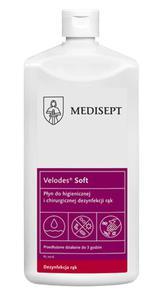 Medi-line Velodes Soft 1l preparat do odkażania i dezynfekcji rąk Mediline środki czystości - 2844488928