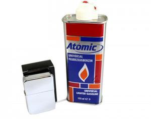 Zapalniczka +Benzyna +Grawer Zdj - 2823224100