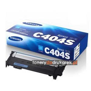 Samsung SL-C480FW toner Samsung CLT-C404S do drukarek Samsung SL-C430W SL-C480W cyan oryginalny - 2858198033