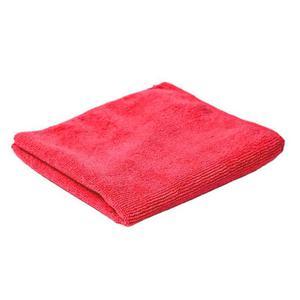 CleanPRO - Ścierka z mikrofibry, 40 x 40 cm - Czerwona - 2825017577
